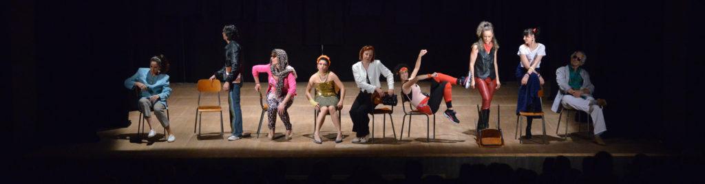 saggio allievi 1° anno - corso di teatro Treviglio- Scuola d'Arte Teatrale Treviglio
