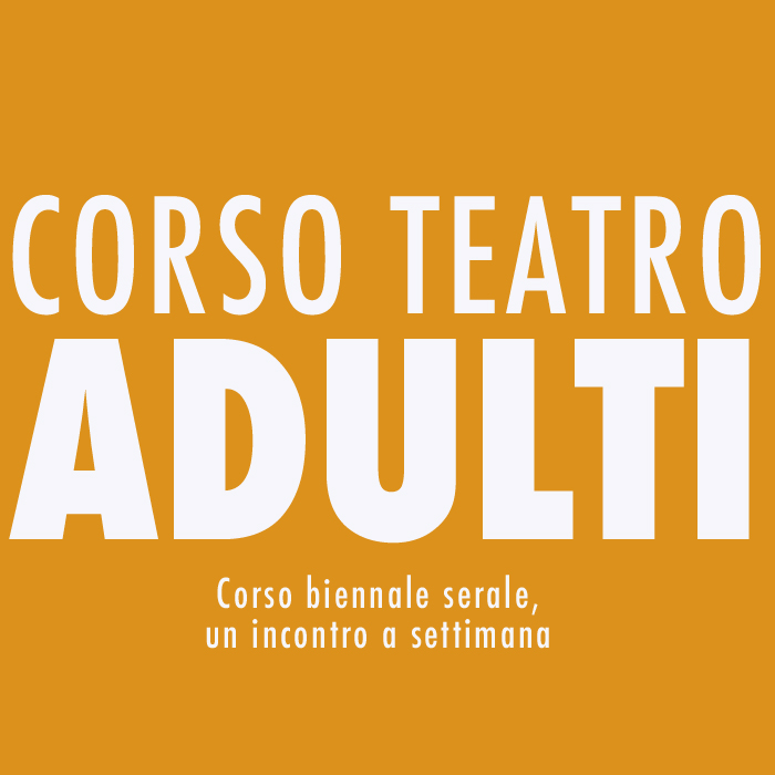 Corso Teatro Adulti